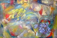 Gelbe-Rifffische-.-100-x-100-cm
