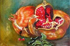 Granatapfel-.-97-x-130-cm